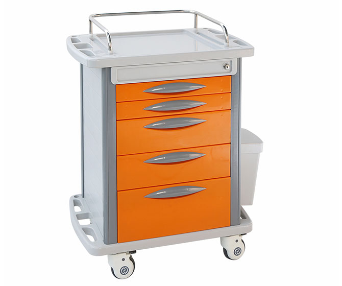 ABS Plastic Hospital Medicince Trolley for BT170B