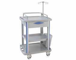 Hospital Treatment Trolley with Three Layers for BT170K