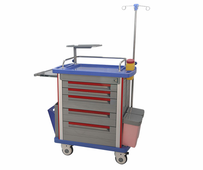 Hospital Ambulance Trolley with tray for BT180A