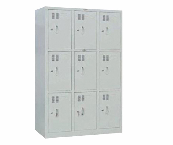 9 Doors Clothes Steel Cabinet for BC150-9
