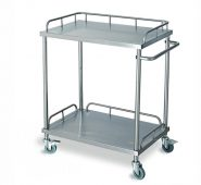 Stainless Steel Hospital Instrument Trolley for BC122