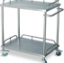 Stainless Steel Hospital Instrument Trolley                        (Axiom – UK)