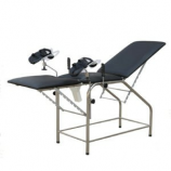 Delivery/Parturition Bed                                           (Axiom – UK)                                                                    Basic InformationArt.No.  BT642Size:(mm) 1900*550*800Material:  Steel powder coated frame Standard accessory:1 pair footrest , 1pc of mattress, 1pc dirt bucket, 1pc sundries shelf.