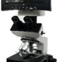 Binocular Microscope with Screen                                                                  (Made in China)