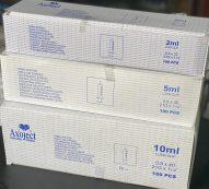 Axoject Disposable Syringe – 2ml, 5ml, 10ml